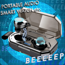 【2019最新版 Bluetooth 5.0 4200mAh】ワイヤレスイヤホン